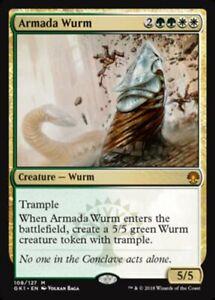 Armada Wurm x4 Magic the Gathering 4x Guilds of Ravnica Guild Kits mtg card lot