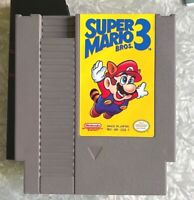NES Super Mario Bros 3 Nintendo Complete In Box w/ Manual Fast Ship! TESTED