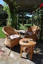tub style wicker furniture .... conservatory furniture / wicker patio set 3pcs