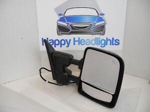 OEM 2016-2018 Nissan Titan XD Right Passenger Signal Power Mirror Blind Spot Tow