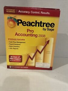 Peachree by Sage Pro Accounting 2008