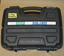MSA Solaris 764906 Personal Alarm Gas Detector for CO O2 H2S in carry case