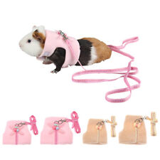 Small Animal Harness Leash Hamster Rabbit Ferrets Squirrel Vest Clothes