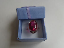 Vintage Soviet Solid Rose Gold Ring 14K 583 Red Ruby US Size 8.25 Russian USSR