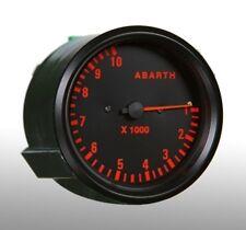 Manometro Strumento 100mm ROAD ITALIA ABARTH Contagiri RPM x1000 Analogico