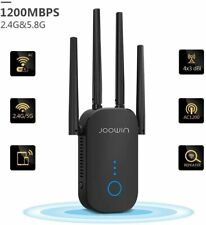WLAN Repeater 11ac Dual Band 1200 Mbit/s Wireless Access Point LAN-Port Netzwerk