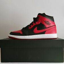 Nike Air Jordan 1 Mid Banned 2020 UK 9. Brand New In Box. Free Delivery ✅