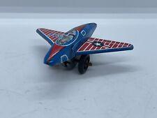 Vintage Japan Tin Litho Airplane Usaf Air Force Friction S2 Antique Old Vtg Jet