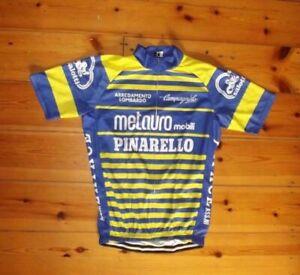 Retro Metauro Pinarello Campagnolo Cycling Jersey Short Sleeve Pro Cothing Bike