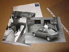 INFORMAZIONI STAMPA PEUGEOT 205 GTI ANNO 1985