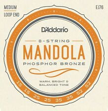 D'Addario EJ76 Phosphor Bronze Mandola Strings 15-52 Medium J76