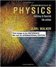 Fundamentals of Physics by David Halliday (Int' Ed Paperback)10 ED
