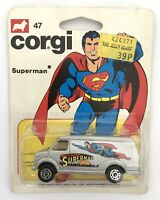 VINTAGE SUPERMAN CORGI TOYS JUNIORS VAN DC COMICS DIECAST