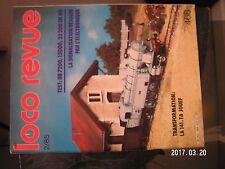 ** Loco Revue n°468 BB 8100 / Le module signal SNCF et les autres