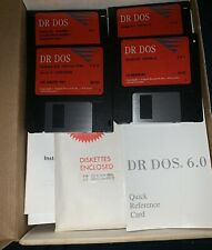 """Dr Dos 6.0 Operating System on 5.25"""" Floppy Disks New Other Excellent Condition"""