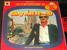 HEINO Sing mit Heino 13 + 14  LP GERMAN MUSIC GERMANY