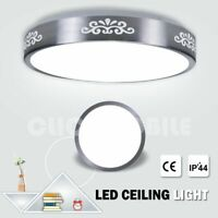 Led Ceiling Lights Round Panel Down Light Bathroom Kitchen Cool White Wall Lamp