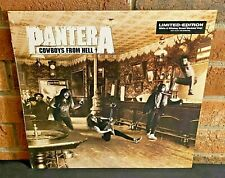 * PANTERA - Cowboys From Hell, Limited COLORED VINYL LP New & Sealed! Bend!