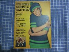 October 1969, WOMAN'S REALM SEWING & KNITTING, Jacqueline Scott, Sweaters.