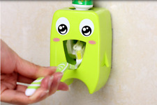 Automatic Toothpaste Dispenser Toothbrush Holder Wall Mount Rack Bathroom Tools