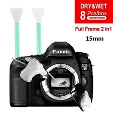 Professional APS CCD/CMOS 8PC Sensor Cleaning Swab + Cleaner Kit for DSLR Camera