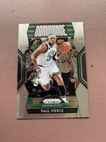 2018-19 Panini - Prizm Basketball: Paul Pierce - Dominance
