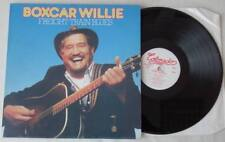 BOXCAR WILLIE Freight Train Blues LP Vinyl Country Folk 1981 * TOP