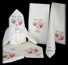 bedruckte Serviette bedrucken lassen Foto Kommunion Hochzeit Taufe Foto Druck