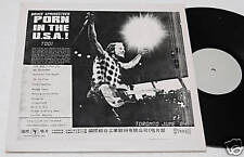 BRUCE SPRINGSTEEN:2LPs-PORN IN THE USA-PROMO FAN CLUB !