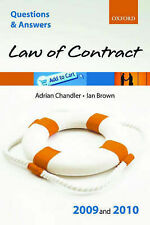 Q&A: Law of Contract 2009 and 2010, Brown, Ian, Chandler, Adrian