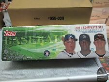 2011 Topps Baseball 660 Card Complete HOBBY Factory Set-w/5 Parallell cards