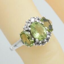 Anelli di lusso con gemme topazio Misura anello 16