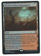 FOIL Blutbeflecktes Schlammloch / Bloodstained Mire - KHANS - deutsch (n-mint +)