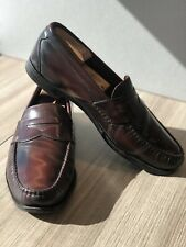 Allen Edmonds Walden 11D Cordovan Dark Burgundy Classic Penny Loafer