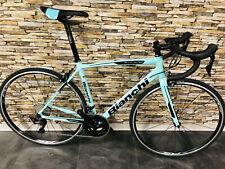 Racing Bicycle Aluminum Bianchi Reparto Corse via Nirone 7 Shimano 105 Size 55