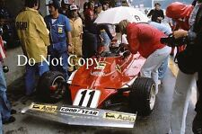Clay Regazzoni Ferrari 312T Austrian Grand Prix 1975 Photograph 2