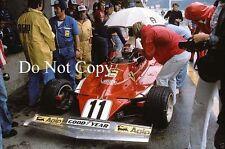 Clay Regazzoni Ferrari 312T Austrian Grand Prix 1975 Photograph 2
