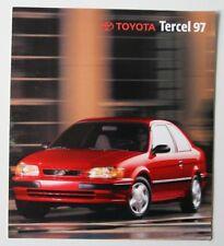 TOYOTA TERCEL 1997 dealer brochure - French - Canada - HS2003000718