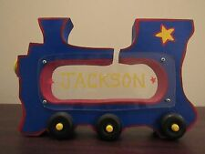 Personalized Wooden Train Bank *JACKSON*
