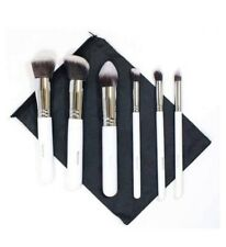 Genuine Morphe 690 BN White 6 Piece Deluxe Contour Makeup Brush Set And Bag