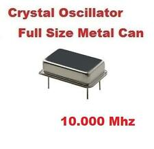 10.000Mhz 10.000 Mhz CRYSTAL OSCILLATOR FULL CAN ( Qty 10 ) *** NEW ***