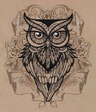 Owl You Need New Embroidered Set 2 Bathroom Hand Towel By Laura