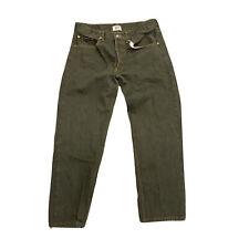 Vintage 501 Levi's Levi Green USA Denim Jeans Pants 36x30
