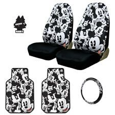 NEW MICKEY MOUSE CAR SEAT COVERS PLUS FLOOR MATS AND ACCESSORIES SET FOR SUBARU