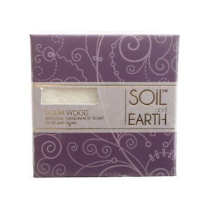 Ayurvedische Vegane Seife (5,99€/100g) Oudh Holz aus Indien, Soil and Earth