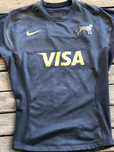 NIKE Argentina game jersey match PUMAS UAR RUGBY size L