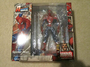 NEW Authentic Kaiyodo Amazing Yamaguchi Revoltech Marvel Spider-man No 002 in US