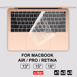 """NEW Keyboard Cover Skin Protector For Apple MacBook Pro Air 13"""" 15"""" 16"""" Touchbar"""