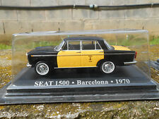 TAXI SEAT 1500 BARCELONA 1970  SCALA 1/43