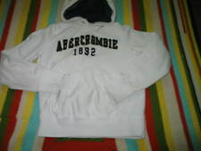 Abercrombie & Fitch Authentic Vintage Hoodie Thick cotton White Size Small